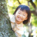 満面の笑みの少女