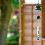庭先の風鈴