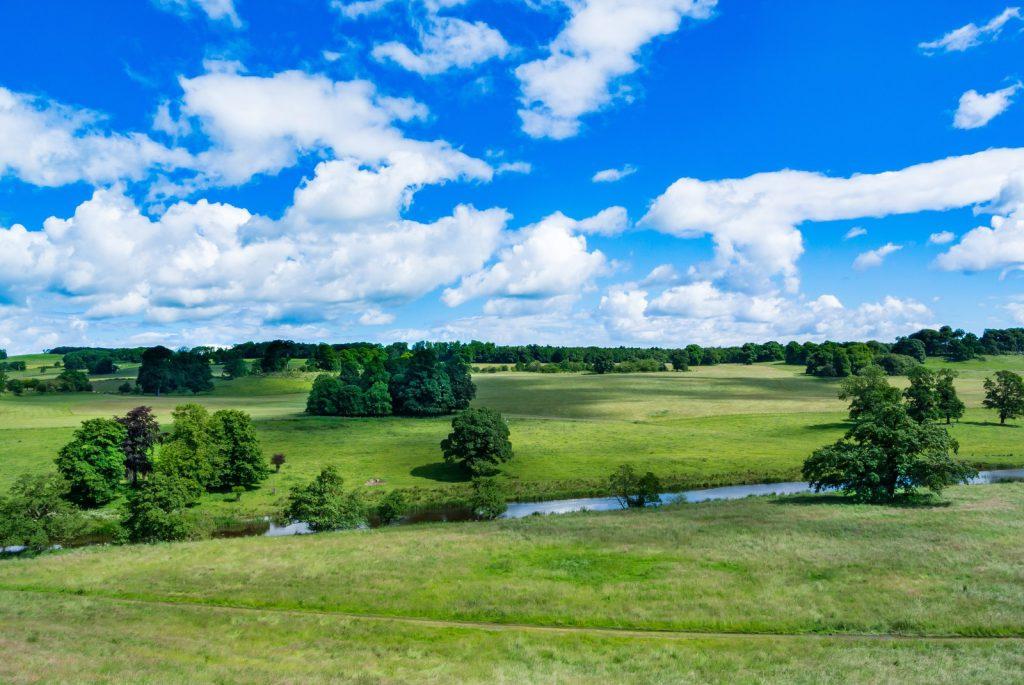 イギリス北部の自然風景
