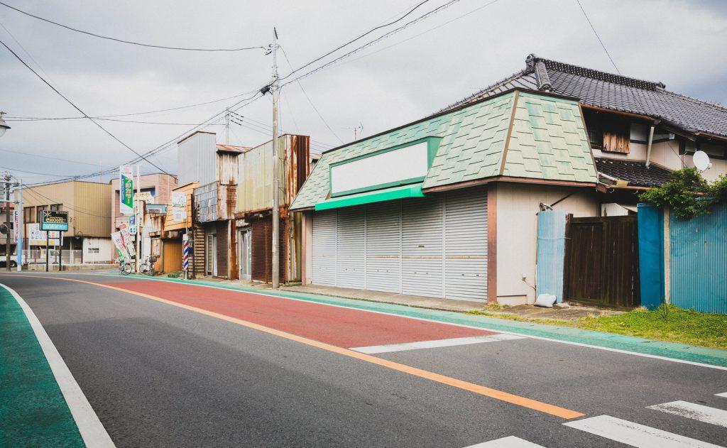 地方の商店