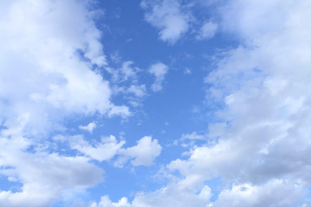 きれいな青空
